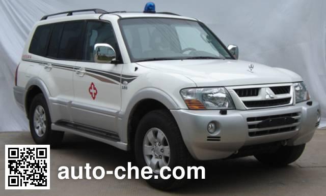 Mitsubishi CFA5038XXJ blood plasma transport medical car