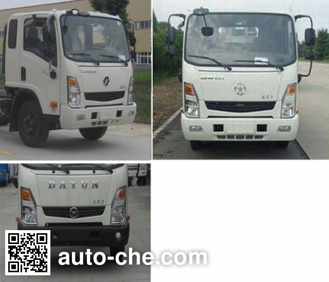Dayun CGC2040HDE33E off-road truck chassis