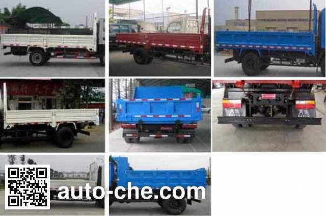 Dayun CGC3040HBB32D dump truck