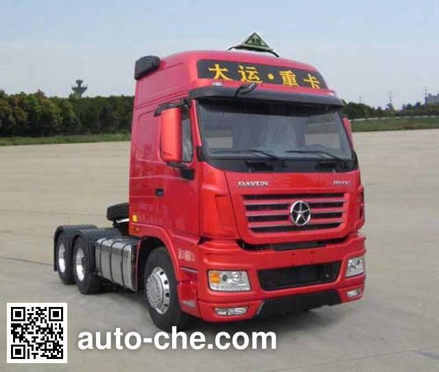Dayun CGC4250A5ECCG dangerous goods transport tractor unit