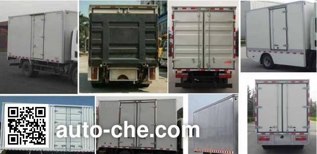 Dayun CGC5040XXYBEV1CAG0 electric cargo van