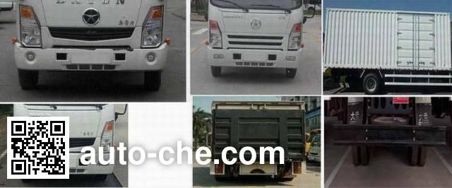 大运牌CGC5041XXYHBB33D厢式运输车