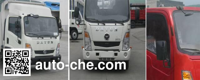 Dayun CGC5043CPYHGC33D soft top box van truck