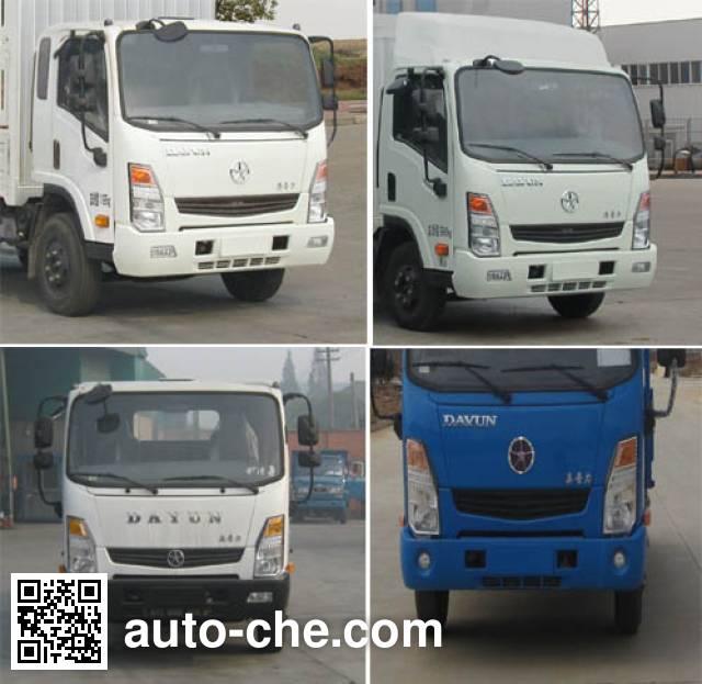 Dayun CGC2041CHDD33D off-road stake truck