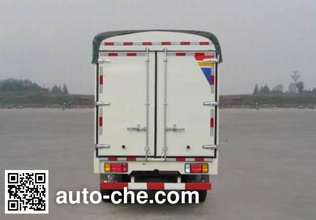 Dayun CGC5047CPYPB33E3 soft top box van truck