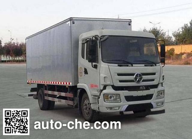 Dayun CGC5160XXYD4UAA box van truck