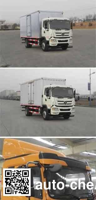 Dayun CGC5161XXYD4UAA box van truck