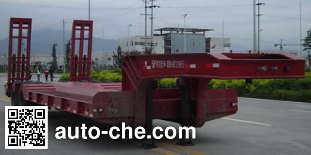 大运牌CGC9340TDP低平板半挂车