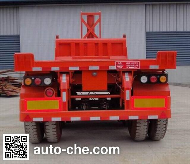 Dayun CGC9350ZZXP flatbed dump trailer