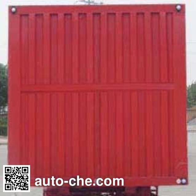 Dayun CGC9370XXY348 box body van trailer