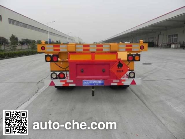 Dayun CGC9400TWY371 dangerous goods tank container skeletal trailer