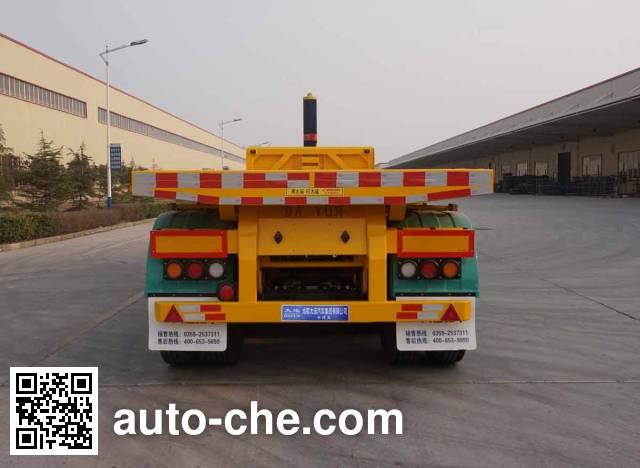 Dayun CGC9400ZZXP344 flatbed dump trailer