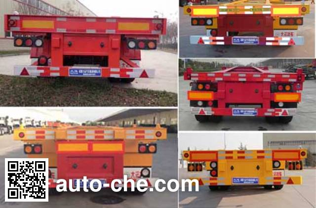 Dayun CGC9401TJZ386 container transport trailer