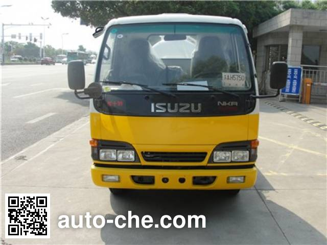 Sanli CGJ5040GXWE4 sewage suction truck