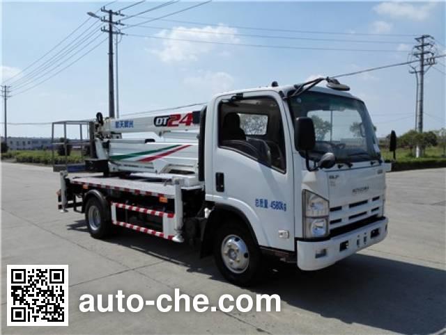 三力牌CGJ5051JGKE5高空作业车