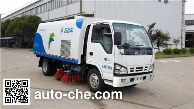 Sanli CGJ5070TSLE5 street sweeper truck