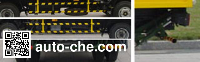 Sanli CGJ5070ZLJ trash containers transport truck