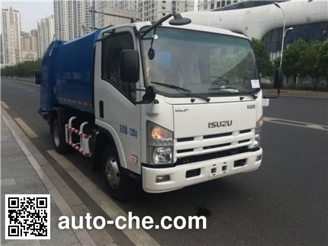 Sanli CGJ5070ZYSBE5 garbage compactor truck