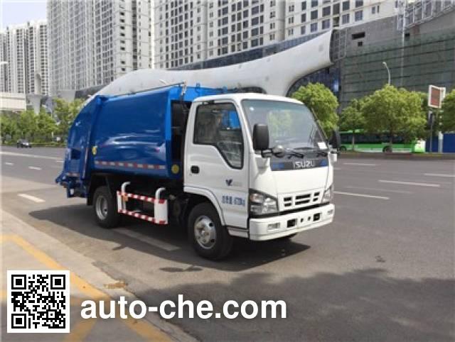 Sanli CGJ5070ZYSE5 garbage compactor truck