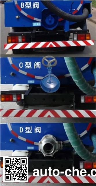 Sanli CGJ5071GXEE4S suction truck