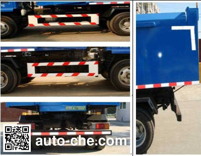 Sanli CGJ5073ZLJ01 dump garbage truck