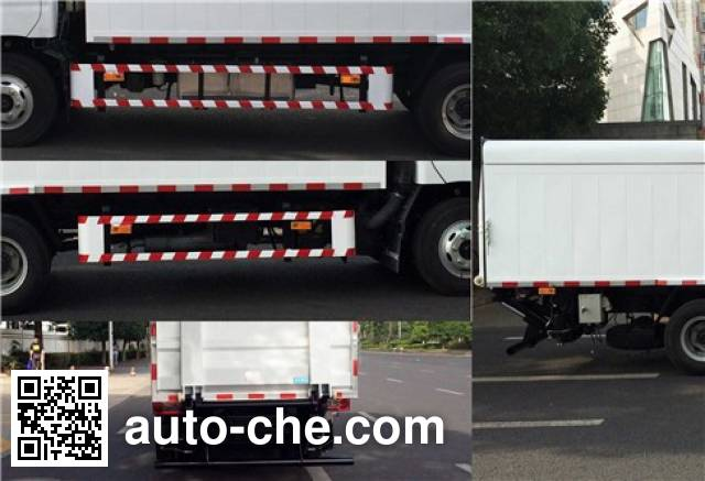 Sanli CGJ5080XTYE5 sealed garbage container truck
