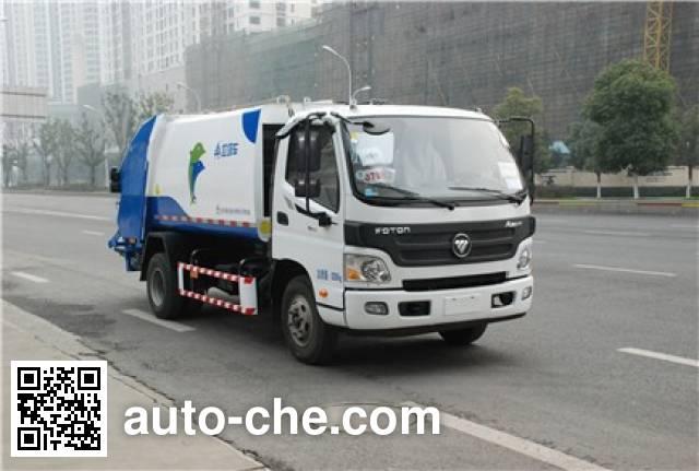 Sanli CGJ5081ZYSE5 garbage compactor truck