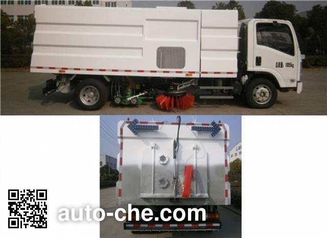 Sanli CGJ5101TXS street sweeper truck