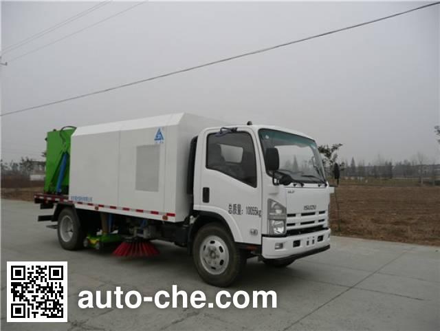 三力牌CGJ5101TXS洗扫车