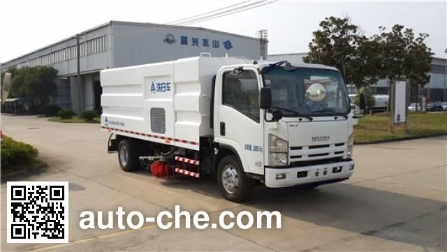 Sanli CGJ5101TXSE5 street sweeper truck