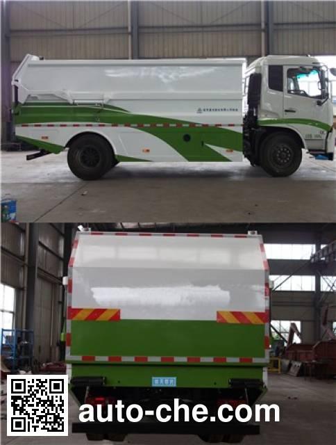 Sanli CGJ5160ZDJE5 docking garbage compactor truck