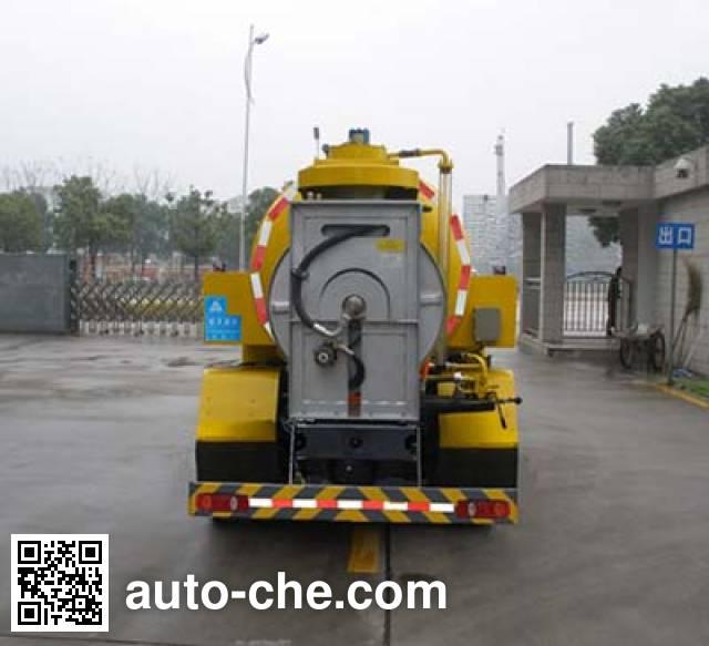 三力牌CGJ5163GQX下水道疏通清洗车