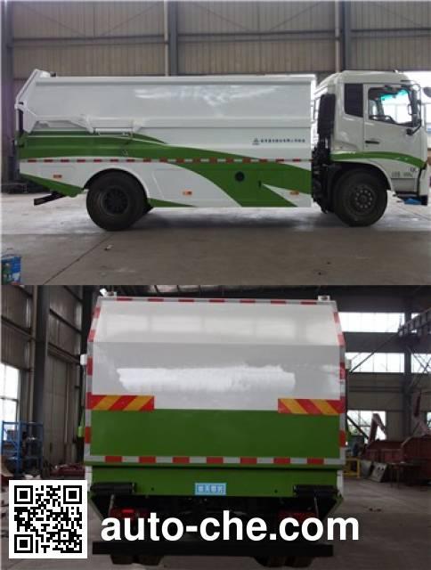 Sanli CGJ5180ZDJE5 docking garbage compactor truck