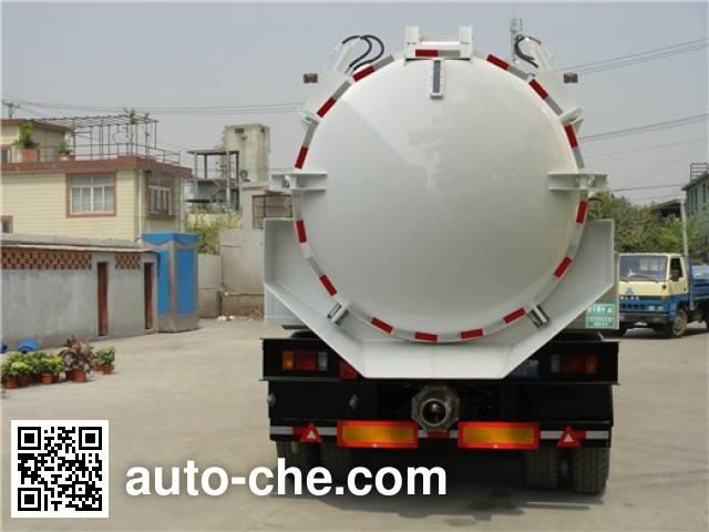 Sanli CGJ9280GXE fecal suction trailer