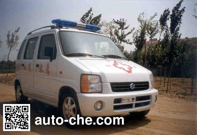 Beidouxing CH5016XXJD blood plasma transport medical car