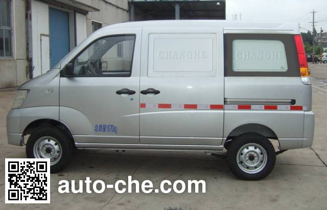 Changhe CH5021XXYBG21 box van truck