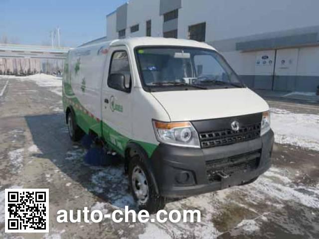 Haide CHD5032TSLBEV electric street sweeper truck