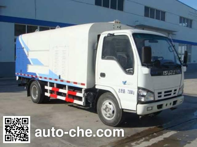 Haide CHD5072GQXE4 highway guardrail cleaner truck