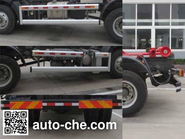 Haide CHD5121ZXXE5 detachable body garbage truck