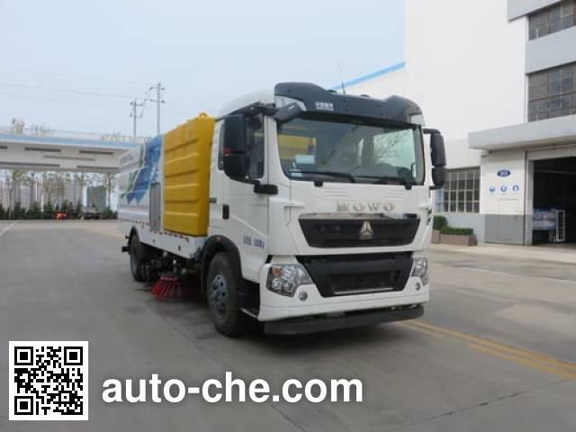 Haide CHD5167TXSZD street sweeper truck