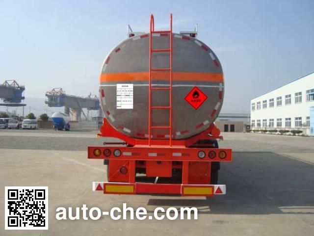 Antong CHG9400GRY flammable liquid aluminum tank trailer