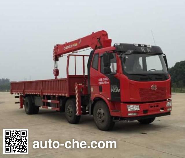 Changlin CHL5220JSQJ4 truck mounted loader crane