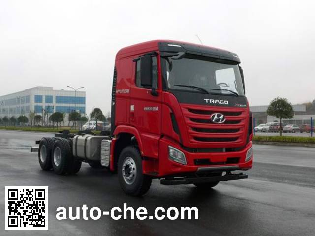 Kangendi CHM3250KPQ52V dump truck chassis