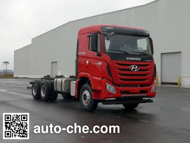 Kangendi CHM3250KPQ56V dump truck chassis