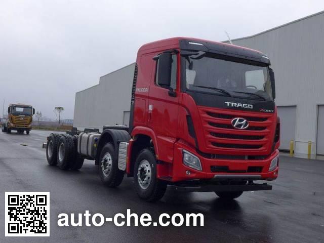 Kangendi CHM3310KPQ69V dump truck chassis