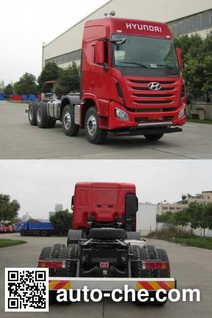 Kangendi CHM3310KPQ72V dump truck chassis