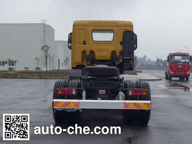 Kangendi CHM3310KPQ74V dump truck chassis