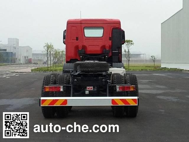 Kangendi CHM3310KPQ77V dump truck chassis