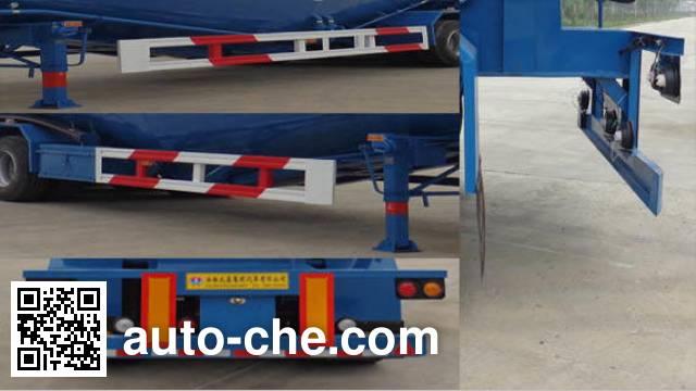 兆鑫牌CHQ9400GFL低密度粉粒物料运输半挂车