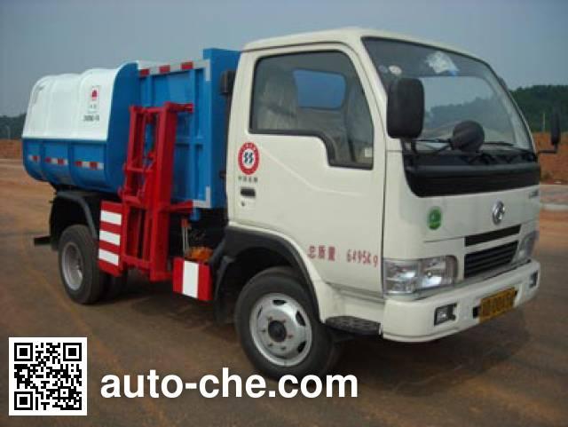 Zhongfa CHW5061ZLJ side-loading garbage truck